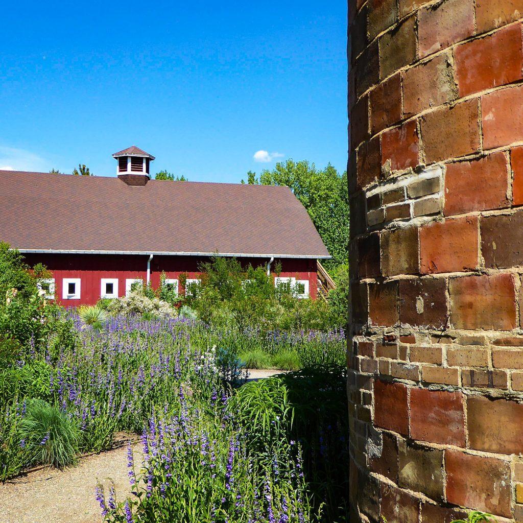 Denver Botanic Gardens Red Barn