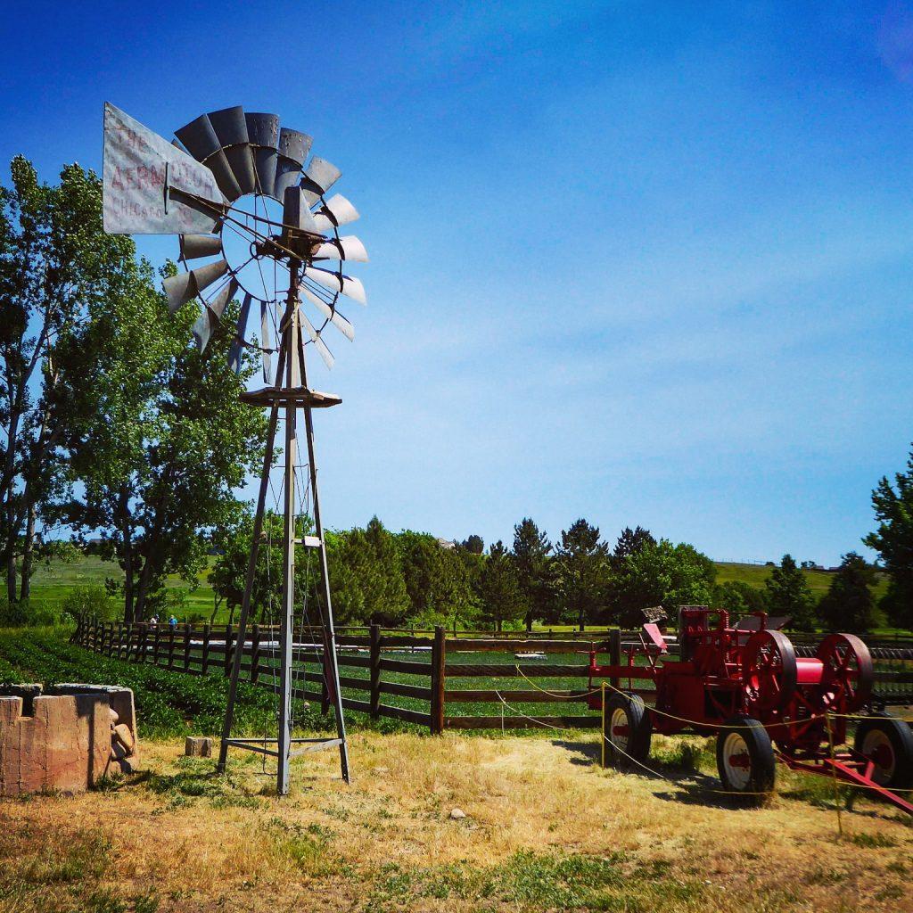 Denver Botanic Gardens Windmill