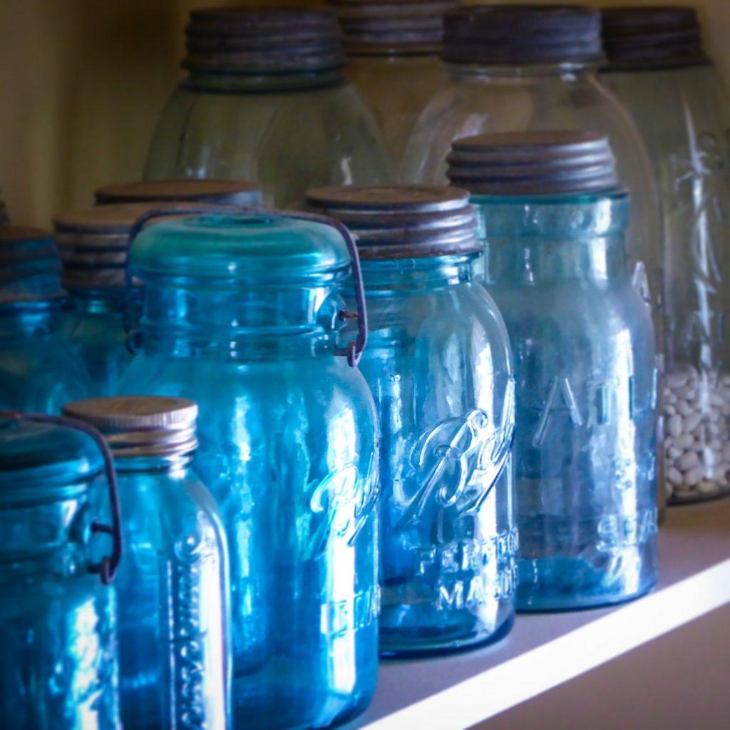 Denver Botanic Gardens Mason Jars
