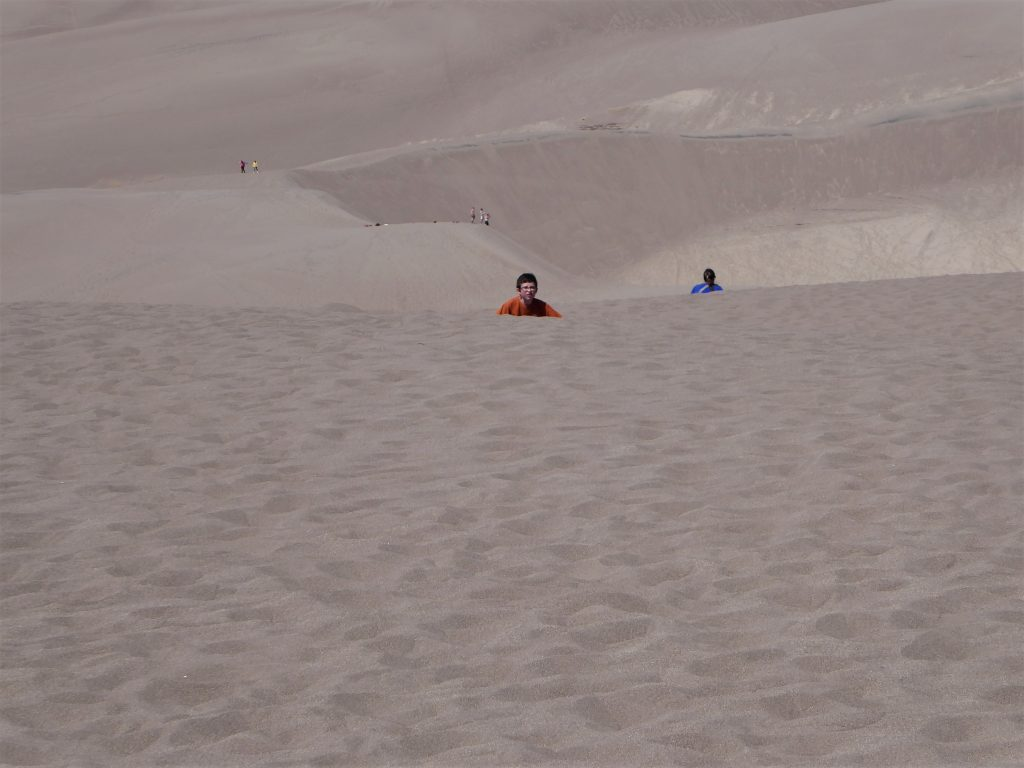 Great Sand Dunes Ascent