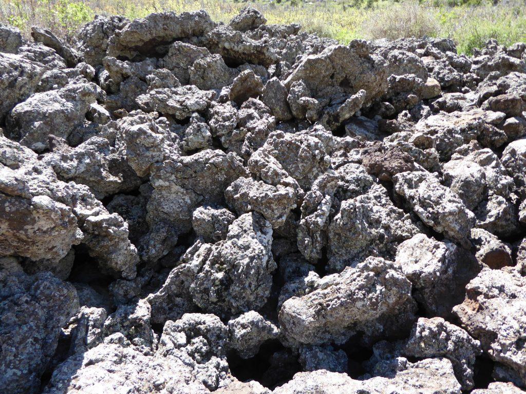 Capulin Volcano Rock Piles
