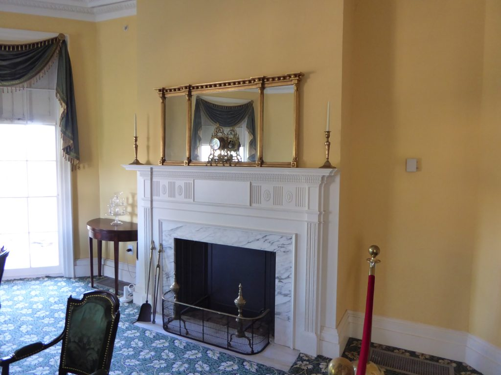 Upper Manhattan Grange FIreplace