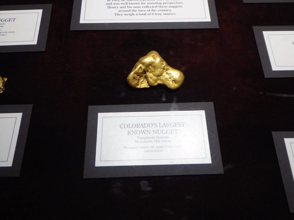 Denver Museum of Nature and Science Gold Nuggest