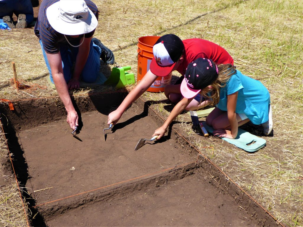 Family Archaeological Dig - plot dig