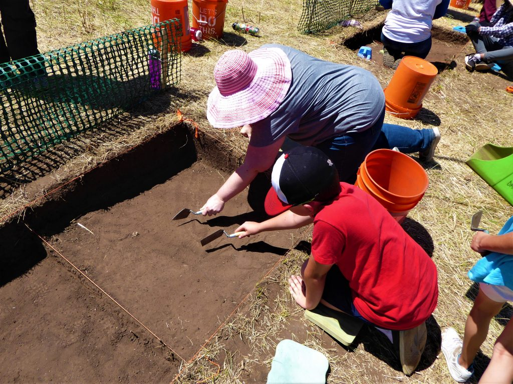 Family Archaeological Dig - artifacts search