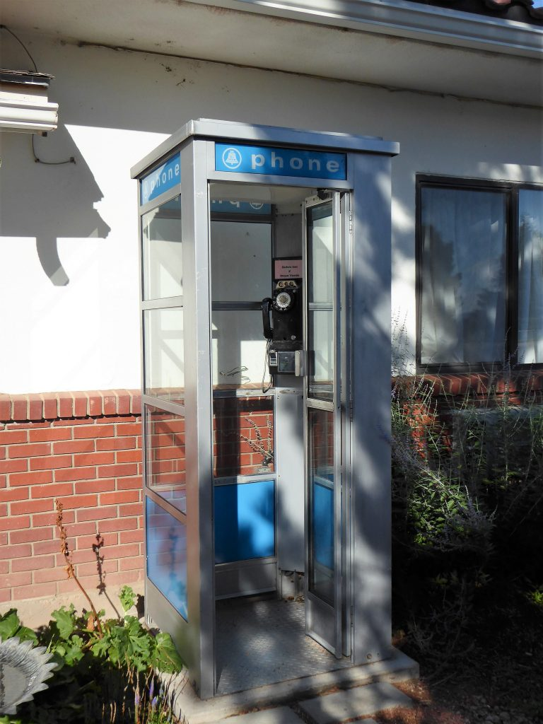 Retro Inn Phone Booth