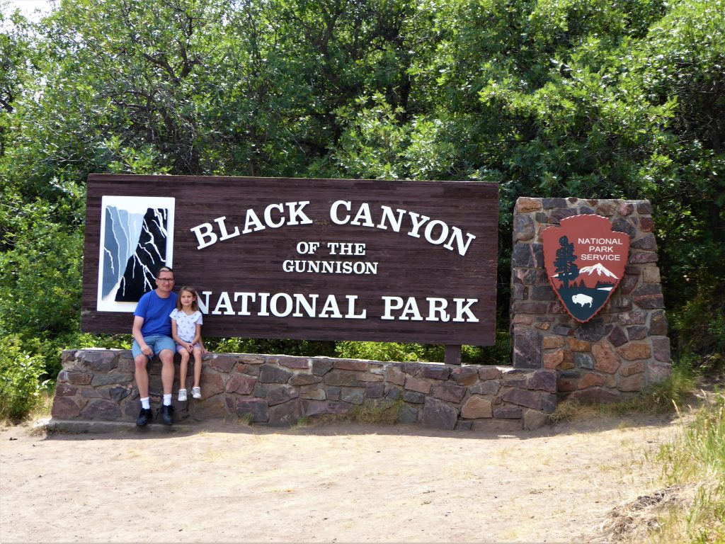 Black Canyon of the Gunnison Sign