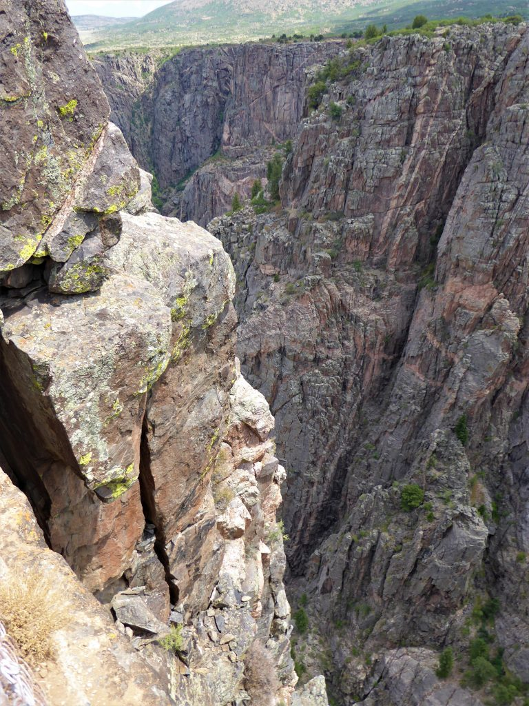 Black Canyon of the Gunnison National Park Devil's Lookout gorge