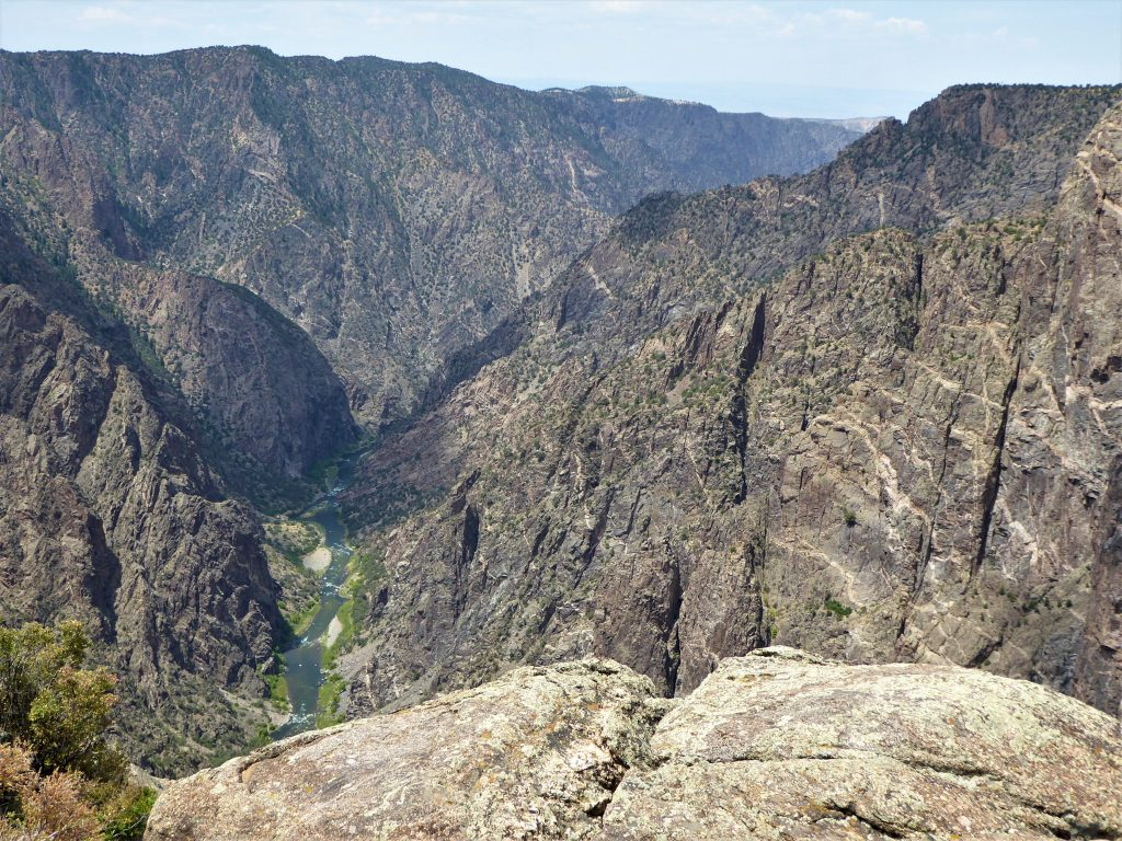 Black Canyon of the Gunnison National Park Cedar Point Overlook
