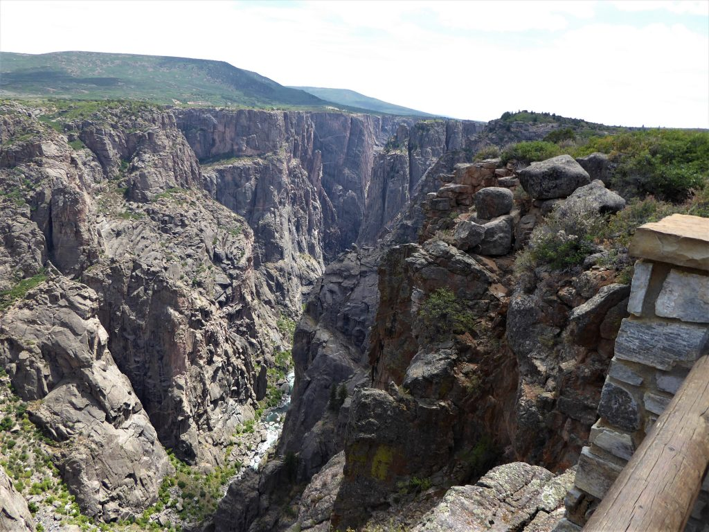 Black Canyon of the Gunnison National Park Chasm View