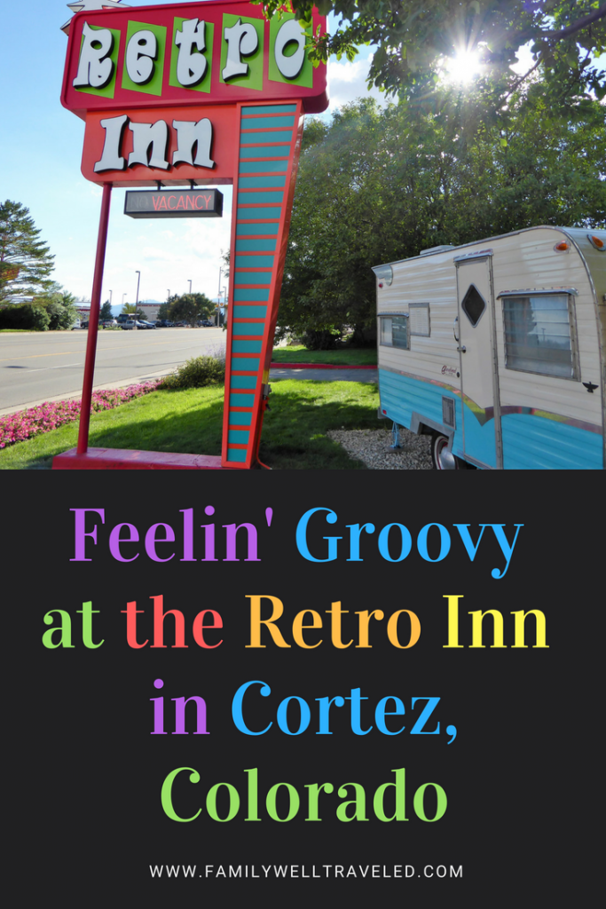 Retro Inn Cortez, Colorado Pin