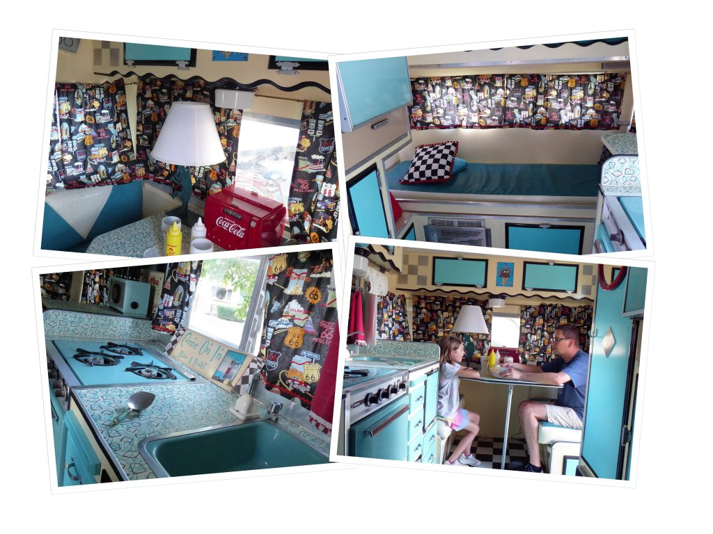 Retro Inn Camper Travel Trailer