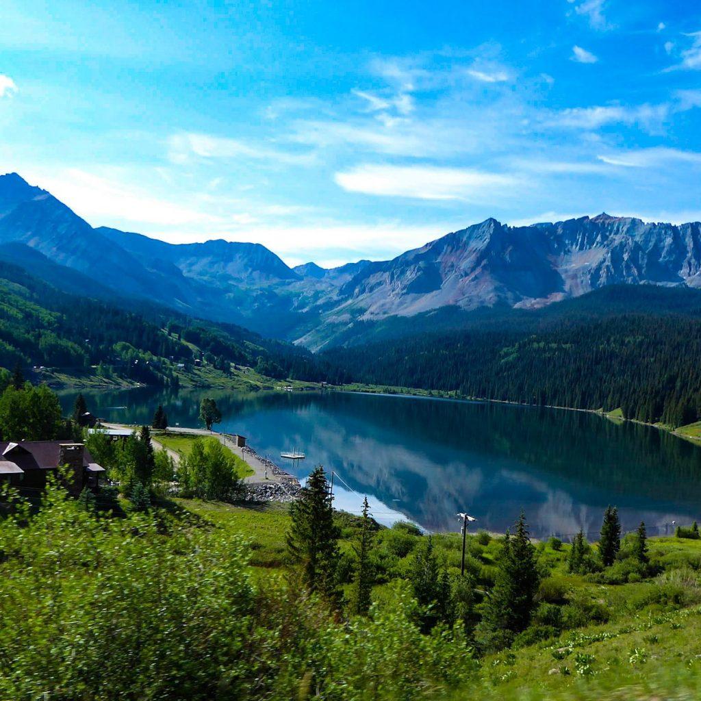 Colorado Highway 145 Mountain Lake