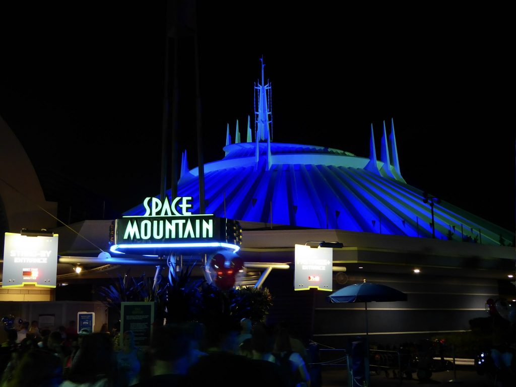 Disney's Not So Scary Halloween Party Space Mountain