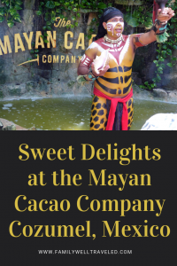 Mayan Cacao Company in Cozumel, Mexico