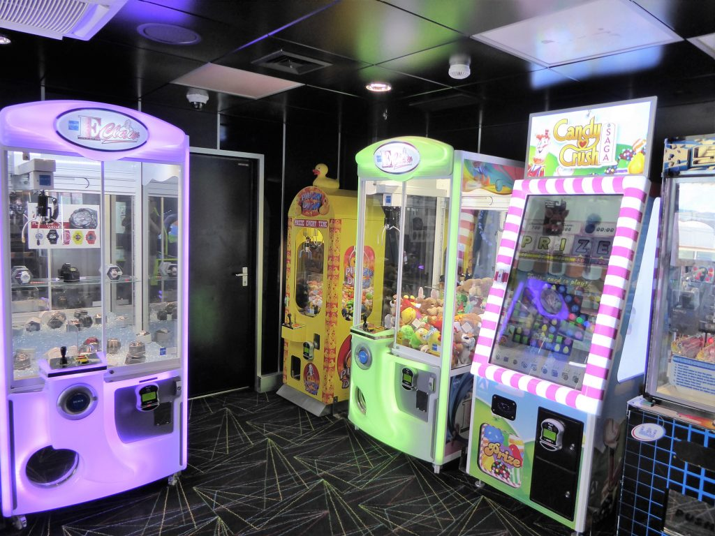 Brilliance of the Seas Arcade games