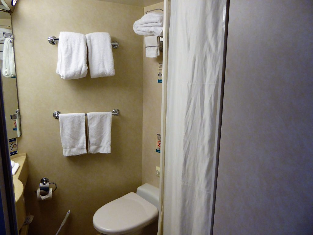 Brilliance of the Seas bathroom