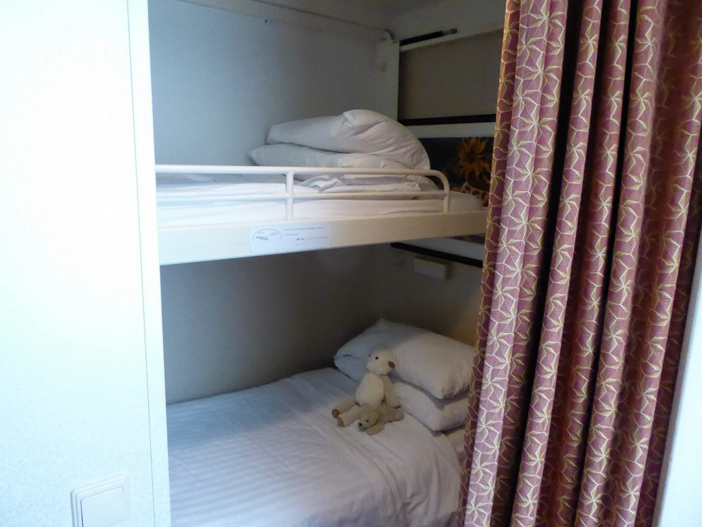 Brilliance of the Seas Bunks