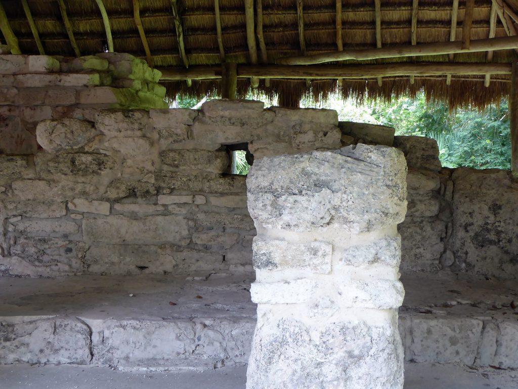Mayan Ruins of San Gervasio Las Manitas