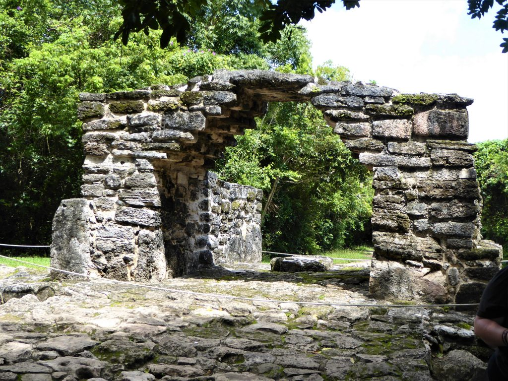 Mayan Ruins of San Gervasio Arch