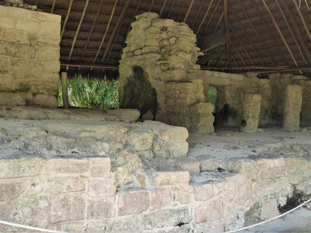 Mayan Ruins of San Gervasio Temple