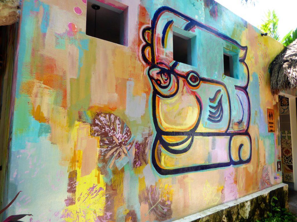 Mayan Cacao Company Mural
