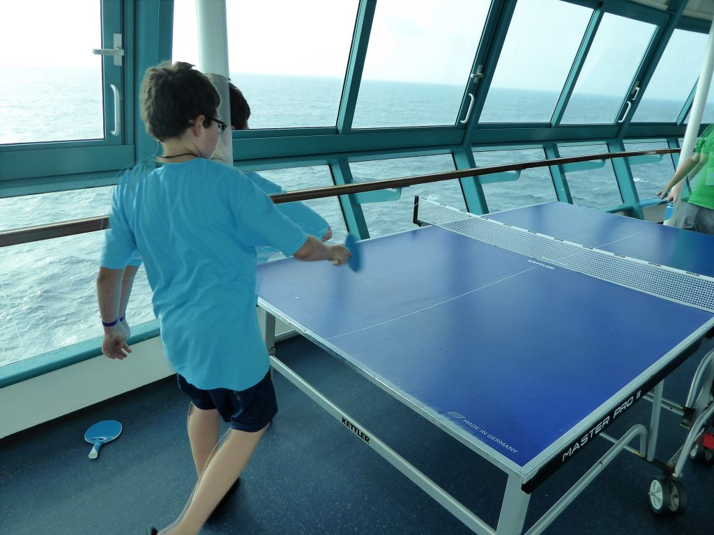 Brilliance of the Seas Ping Pong