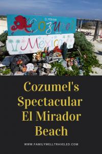 El Mirador Beach, Cozumel, Mexico