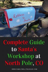 Santa's Workshop North Pole, Colorado, USA