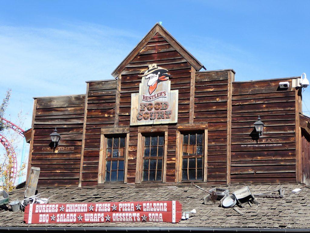 Elitch Gardens Theme Park Rustler's Food Court