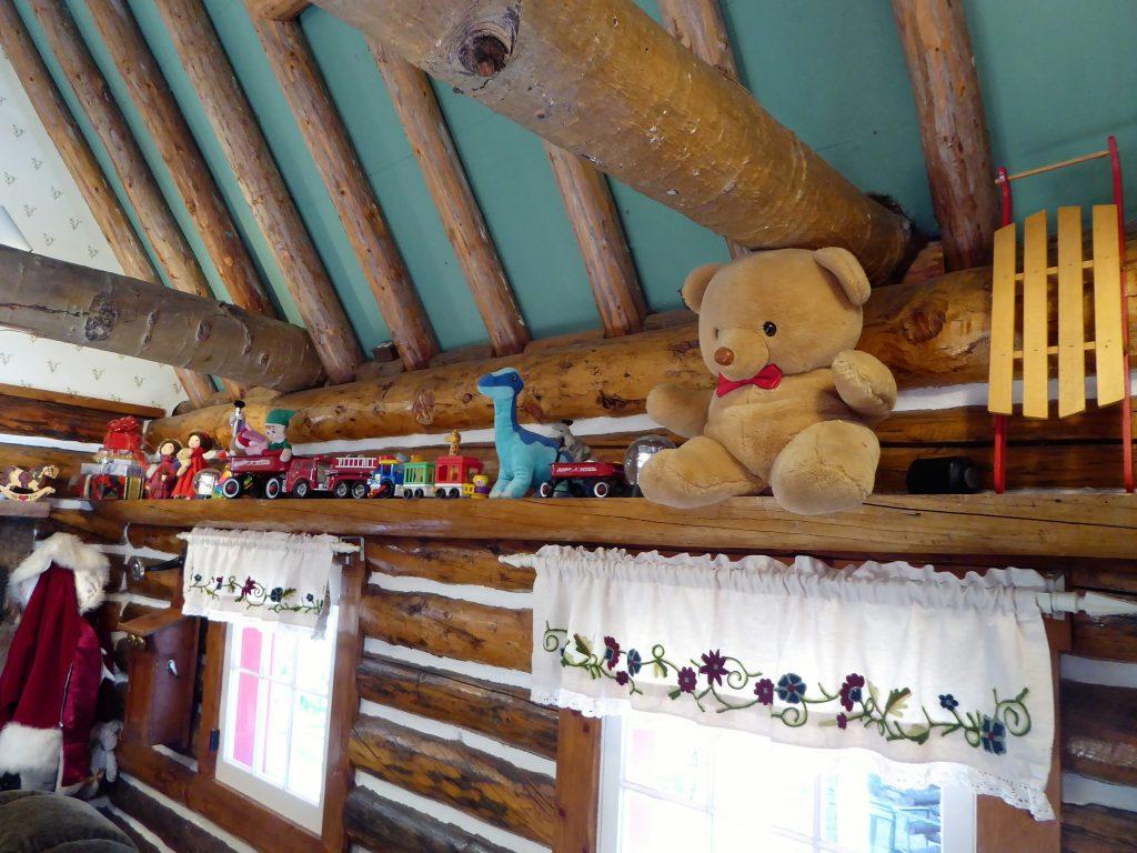Santa's Workshop North Pole Santa's House Decor