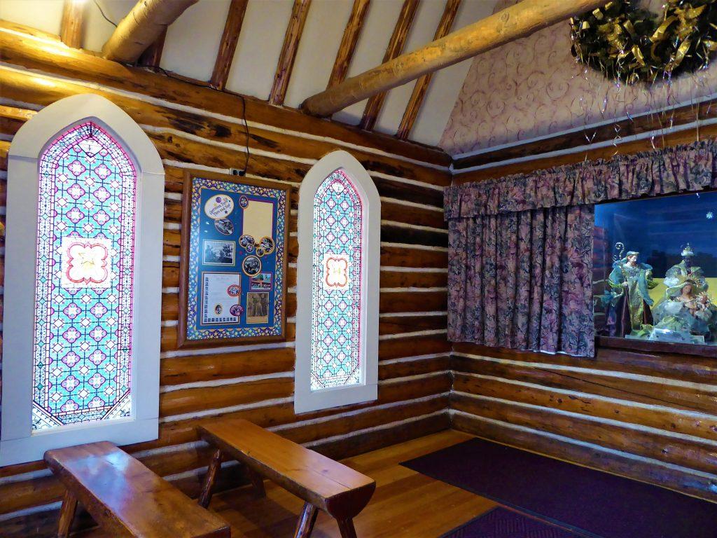 Santa's Workshop North Pole Interior Chapel