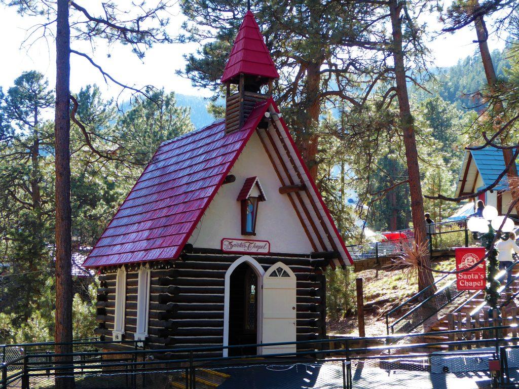 Santa's Workshop North Pole Chapel