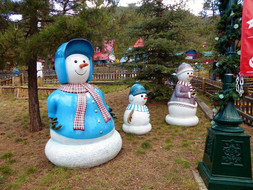 Santa's Workshop North Pole Snowmen