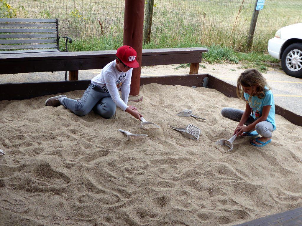 Dinosaur Ridge Dig Site.
