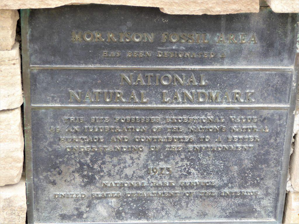 Dinosaur Ridge Natural National Landmark