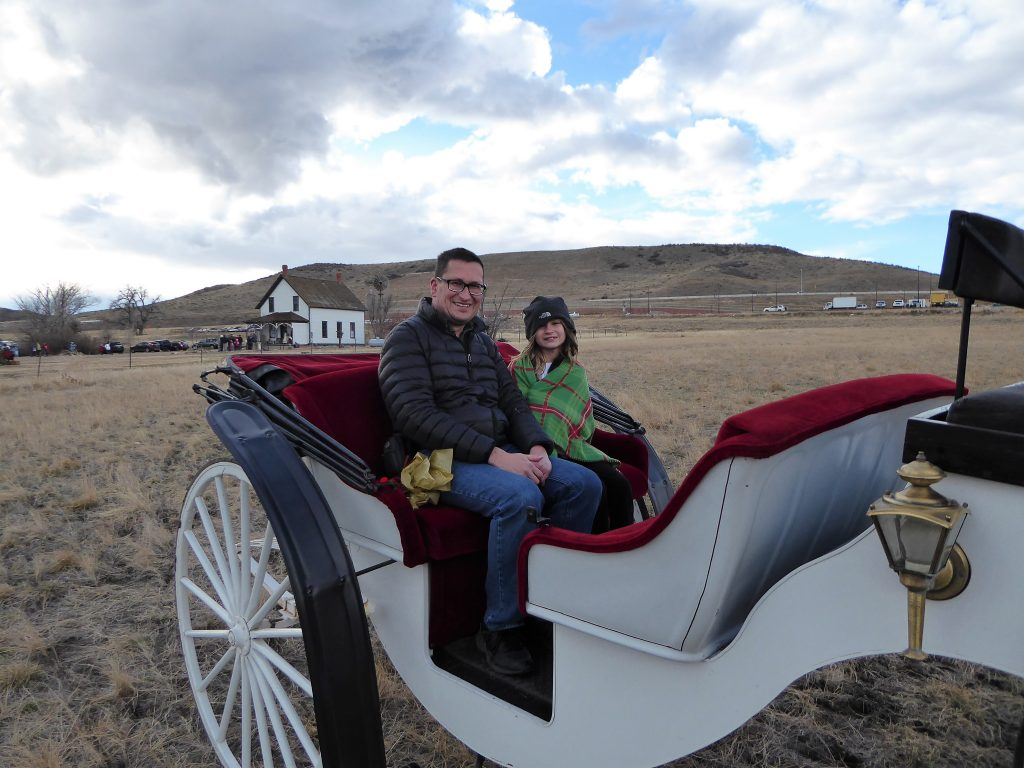 Christmas in Colorado Carriage RIde