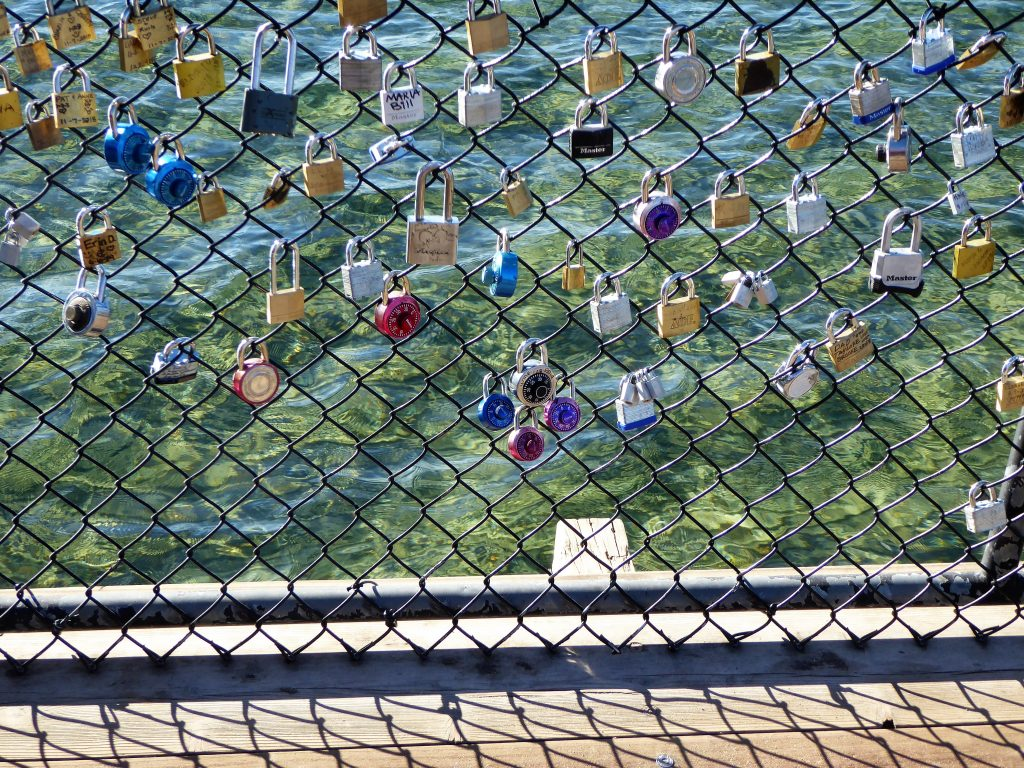 Family Friendly Northern Nevada King's Beach Love Locks