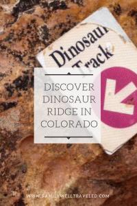 Discover Dinosaur Ridge in Colorado