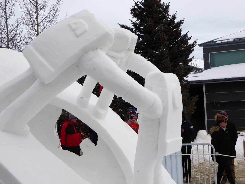 International Snow Sculpture Championship Mission