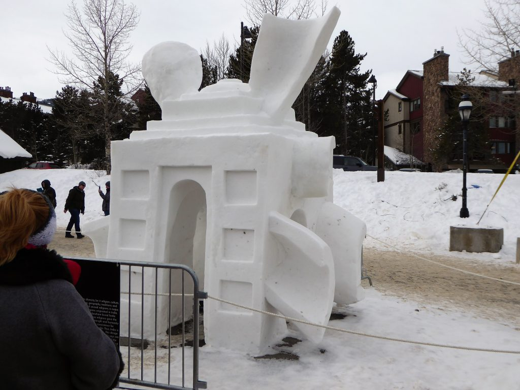 International Snow Sculpture Championship Unity in Diversity