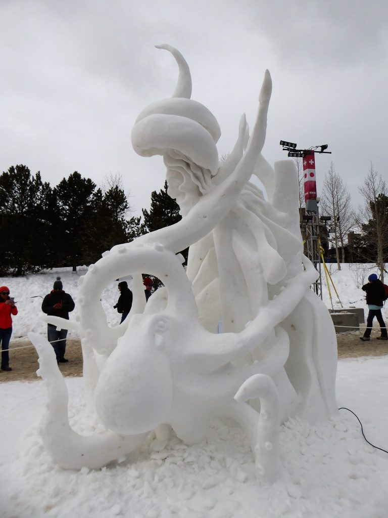 International Snow Sculpture Championship Hidden Dance