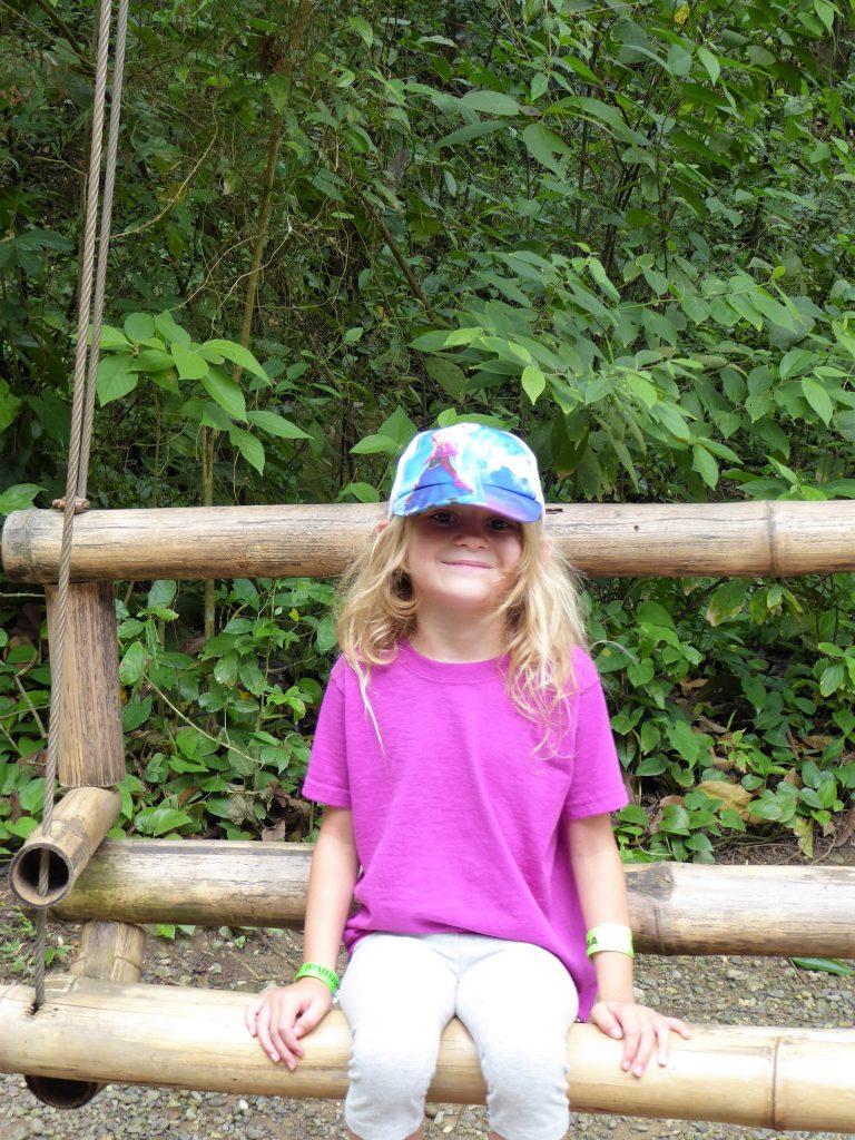 Gumbalimba Park Roatan Island Bench