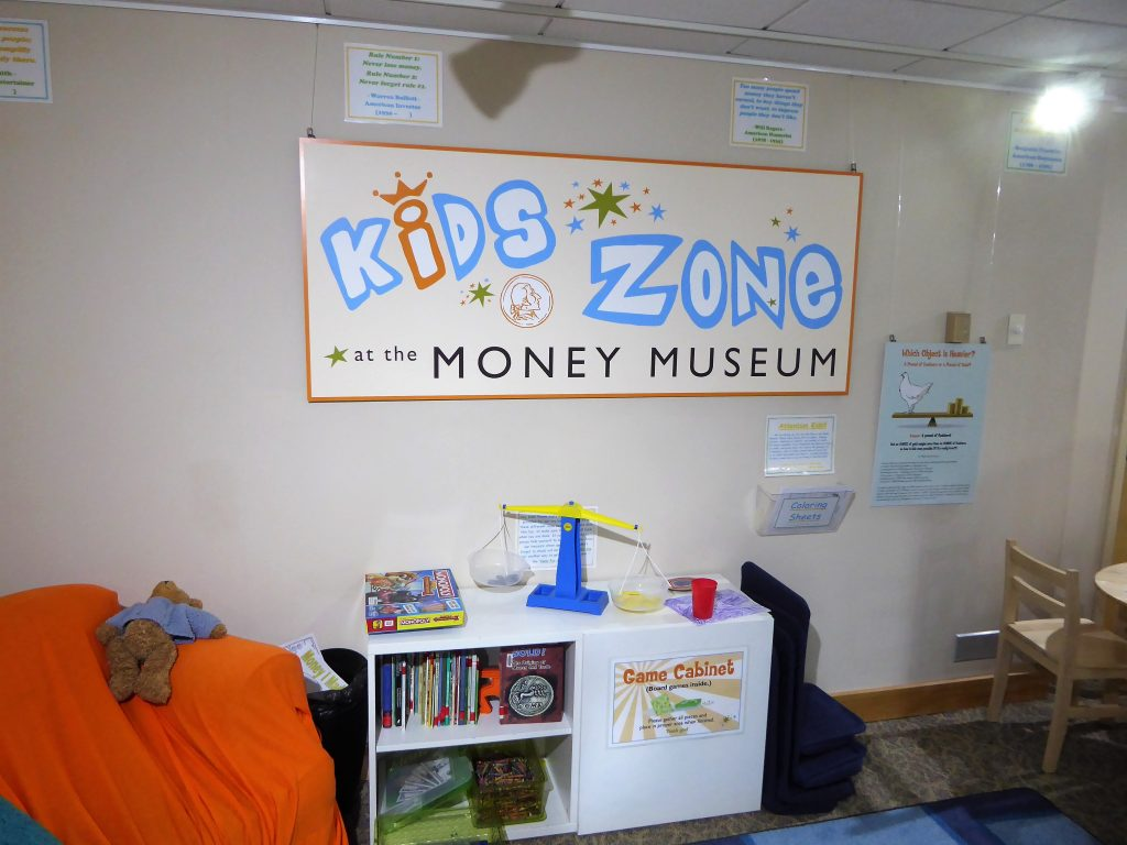 Money Museum Colorado Springs Kids Zone