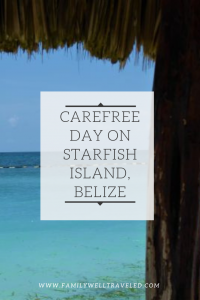 Starfish Island, Belize