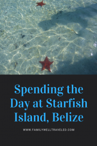 Starfish Island Belize