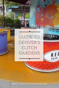 Guide to Elitch Gardens Theme Park Denver, Colorado