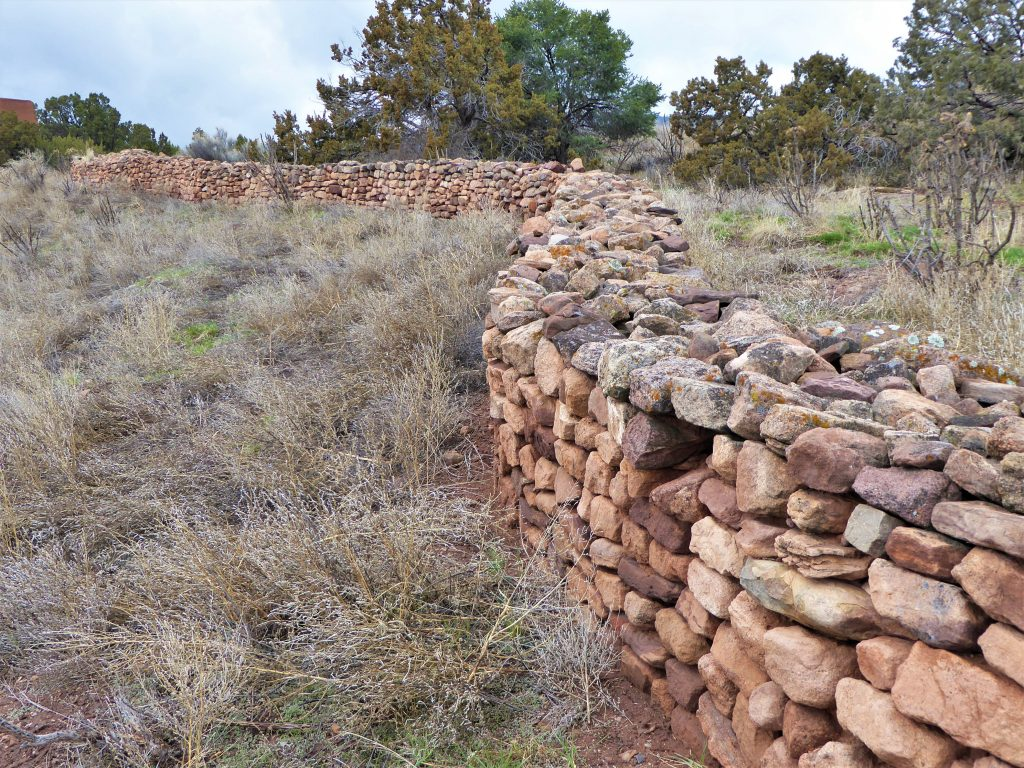 Pecos National Historical Park Stone Wall