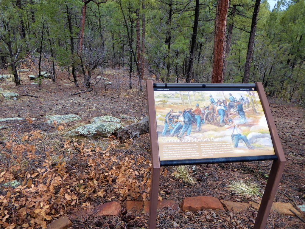 Pecos National Historical Park Glorieta Pass Battlefield