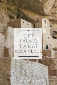 Cliff Palace Tour at Mesa Verde National Park, Colorado